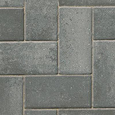 BLOCK PAVING DELTA LARGE FORMAT SILVER HAZE 266X133MM 50MM THICK 288 PER FULL PK 10.19M2 PER PK BRETT  SOLD PER BLOCK