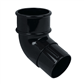 DOWNPIPE OFFSET BEND 50MM X 112.5DEG BLACK RM327B RBM2BL